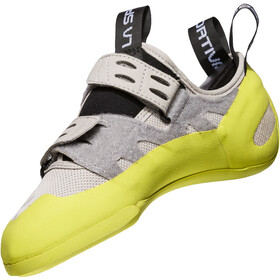 La Sportiva Geckogym Climbing Shoes Dam grey/apple green